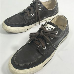 Converse All Star  Brown Leather EUR 40 Mens 7